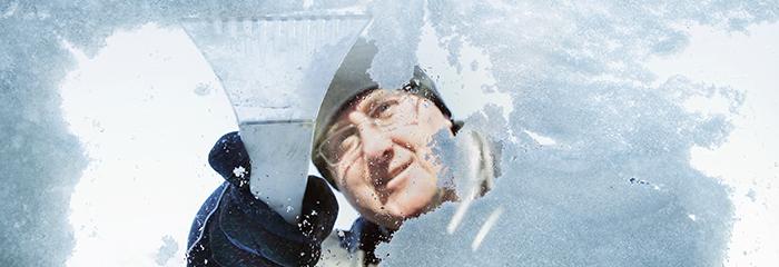 mantenimiento hielo limpiaparabrisas