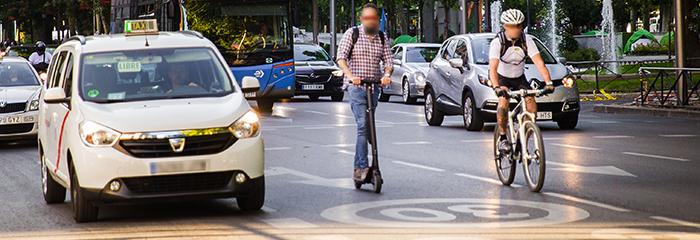 Nueva instrucción de la DGT sobre vehículos de movilidad personal