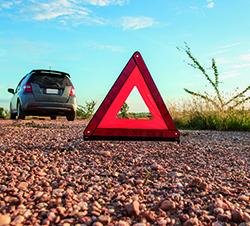 Triángulo de preseñalización de peligro